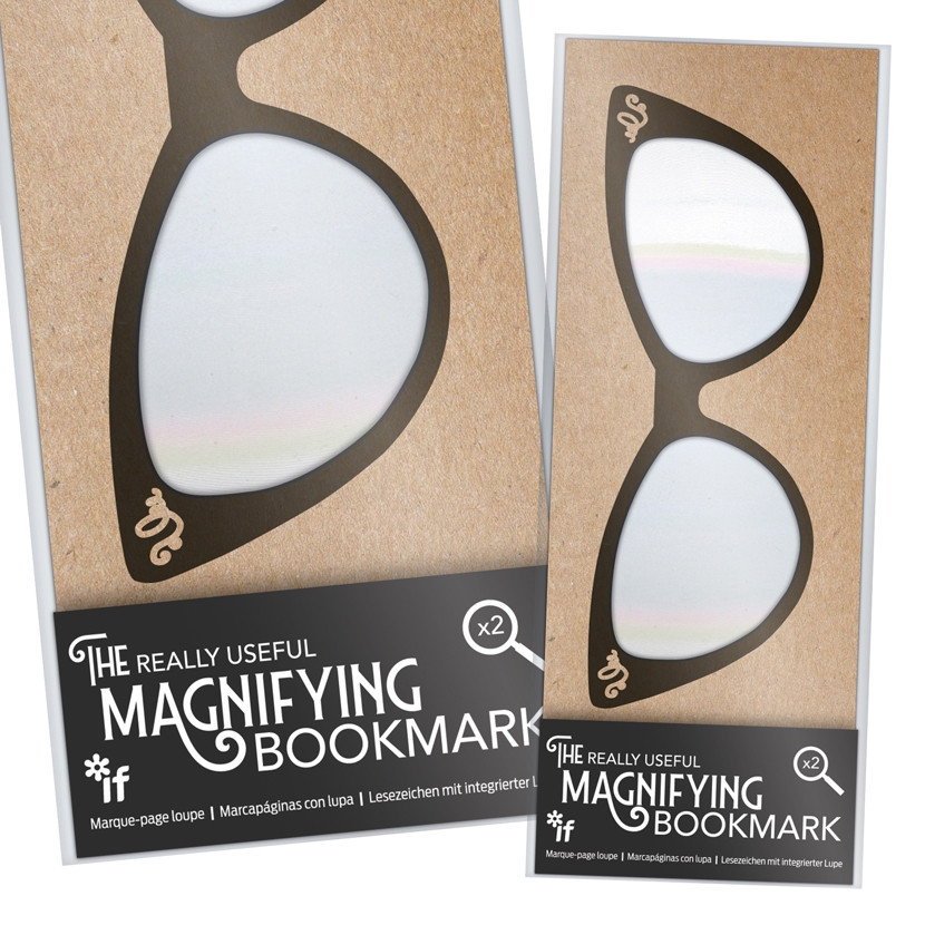 THE REALLY USEFUL MAGNIFYING BOOKMARK 1