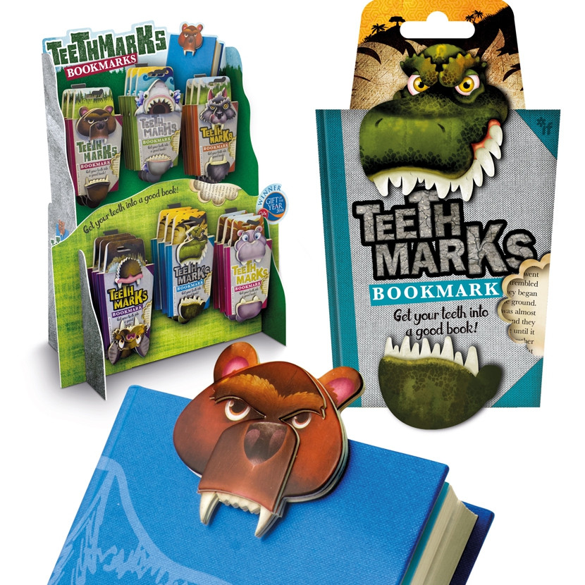 TEETH-MARKS BOOKMARKS 0