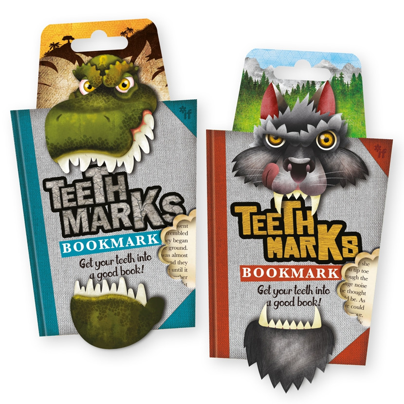TEETH-MARKS BOOKMARKS 5