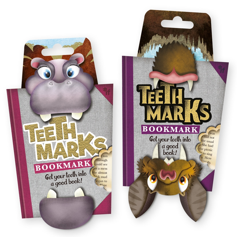 TEETH-MARKS BOOKMARKS 4