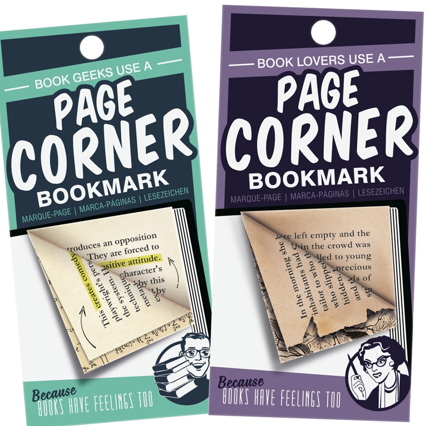 PAGE CORNER BOOKMARKS 1