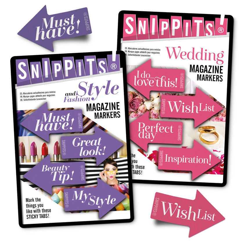 SNIPPITS® MAGAZINE PAGE MARKERS 5