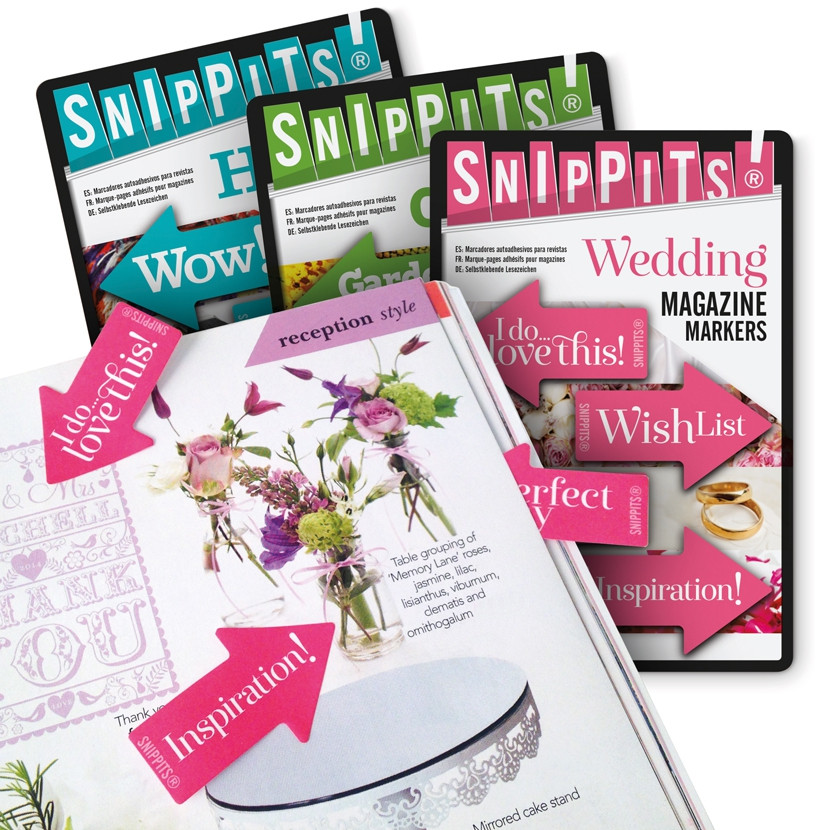 SNIPPITS® MAGAZINE PAGE MARKERS 0