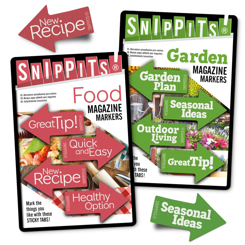 SNIPPITS® MAGAZINE PAGE MARKERS 1