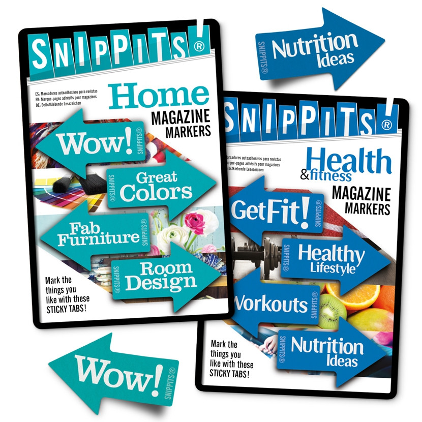 SNIPPITS® MAGAZINE PAGE MARKERS 4