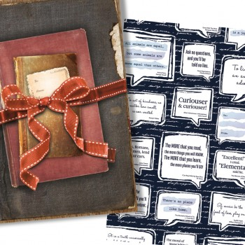 GIFT WRAP FOR BOOKS 9
