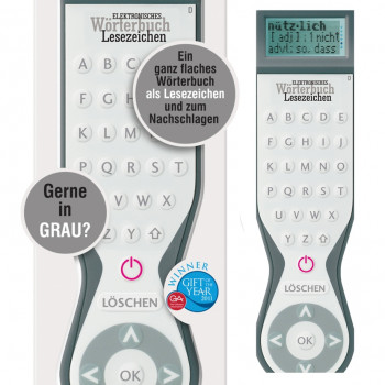 ELECTRONIC DICTIONARY BOOKMARK (SINGLE LANGUAGE DE) 10