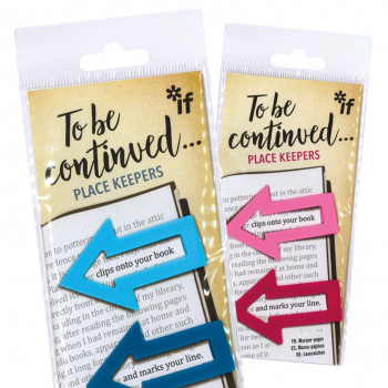 Stationery Bookmark To Be Continued