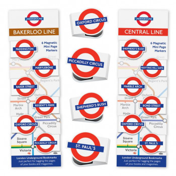 LONDON UNDERGROUND MINI-MAGNETIC BOOKMARK 7