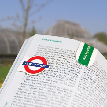 LONDON UNDERGROUND MINI-MAGNETIC BOOKMARK 8