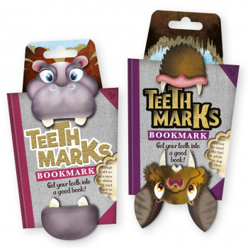 TEETH-MARKS BOOKMARKS 10