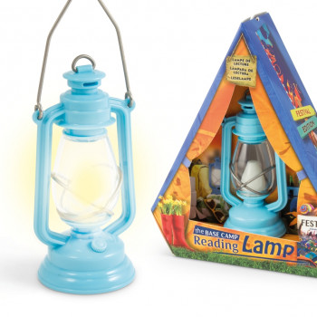 ... THE BASE CAMP READING LAMP 9 ...