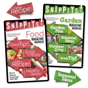 SNIPPITS® MAGAZINE PAGE MARKERS 7